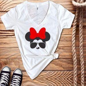 Minnie Mouse V-Neck